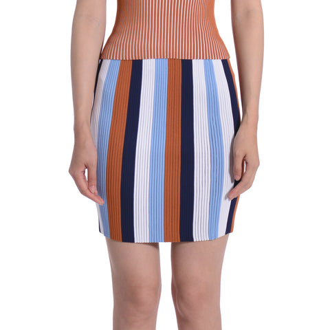 Robin Ribbed Multi Coloured Skirt