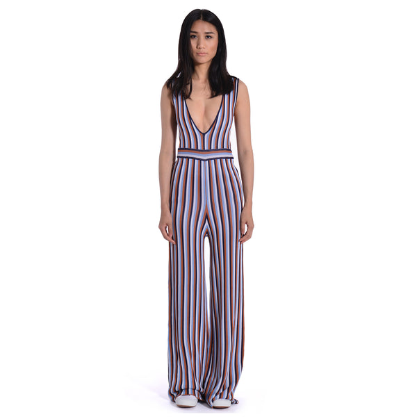 Ryker Knit Striped Jumpsuit