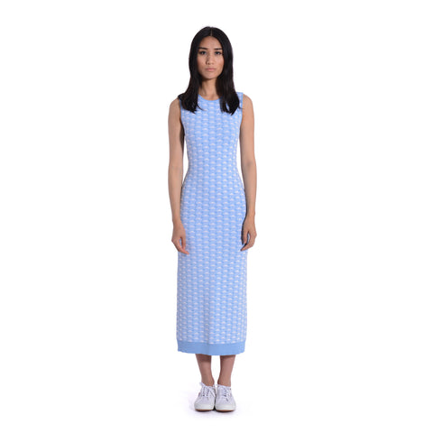 Quinn Cloud Print Sleeveless Dress
