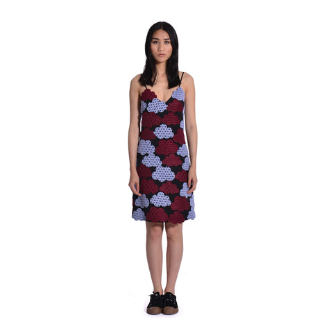 Aura Cloud Neoprene Tank Dress