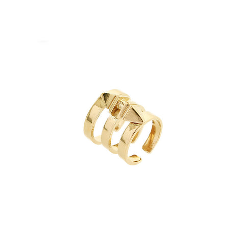 Aleia Short Ring - Gold