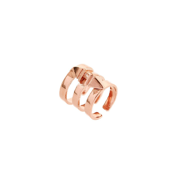 Aleia Short Ring - Rose Gold