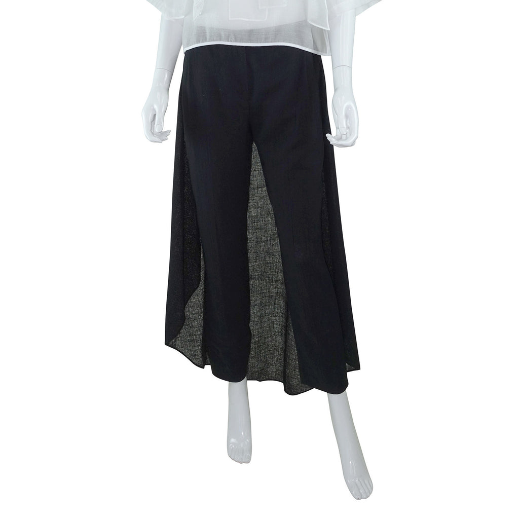 Linen Pants with Skirting