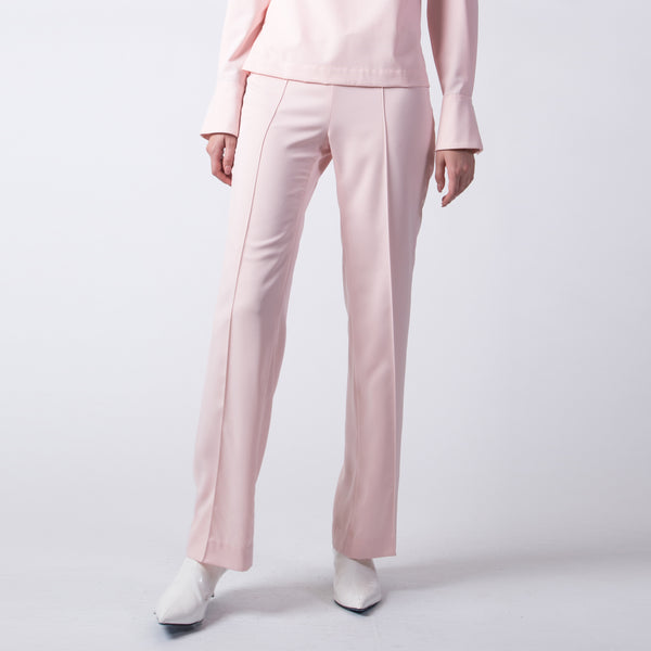 Pink Belted Trousers