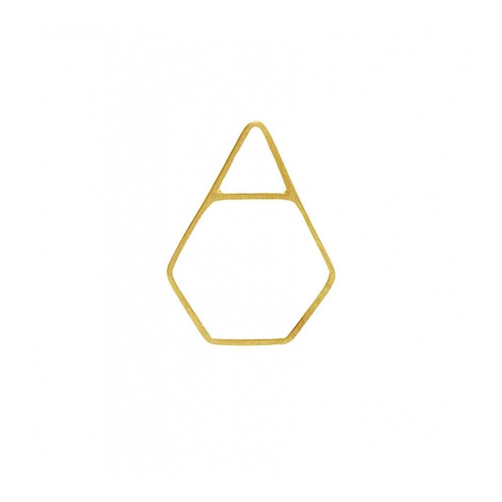 Satori Pyramid Ring - Gold