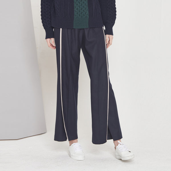 Line Wide-legged Pants