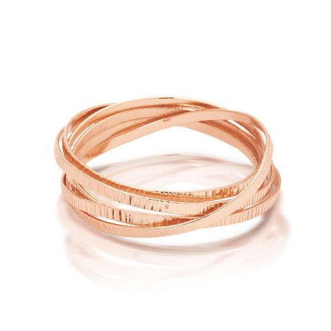 Chamelli Bangle - Rose Gold