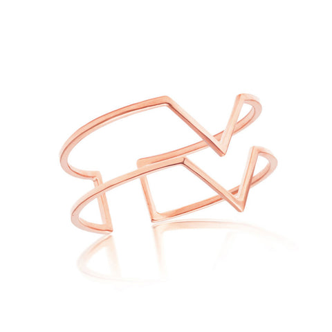 Myla Cuff - Rose Gold
