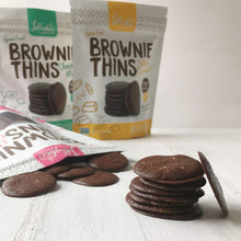 Load image into Gallery viewer, Lillabee Brownie Thins - Classic Chocolate - 3 Pack - Grain Free, Paleo Friendly