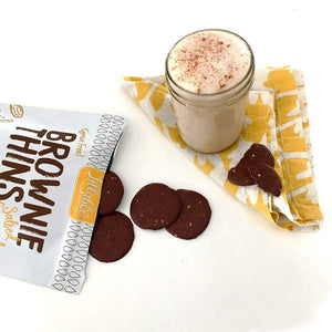 Lillabee Brownie Thins - Salted Caramel - 3 Pack - Grain Free, Paleo Friendly