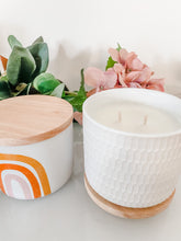Load image into Gallery viewer, Canister Candle  | Pink Ceramic