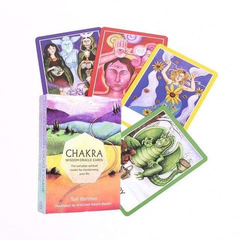 Chakra Wisdom Oracle Cards - Esoterium