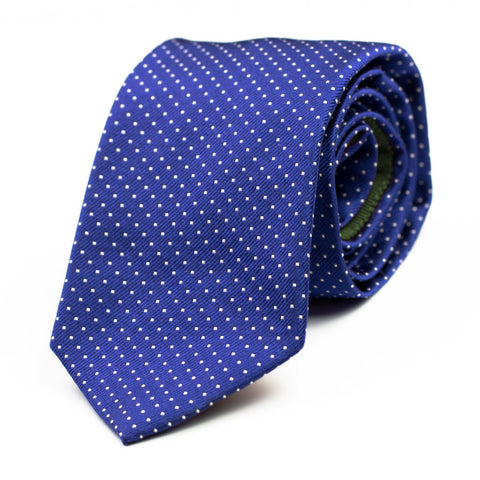 BADLY GOOD - Jacquard silk tie with initials - The Seëlk - 1
