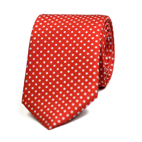 COCCINELLE - Printed-silk tie with initials - The Seëlk - 1