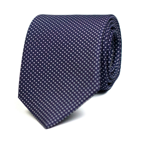 HOURI - Printed silk tie with initials - The Seëlk - 1