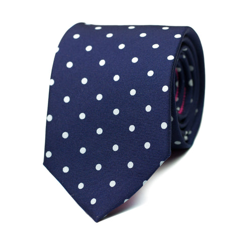 HYALIN - Printed silk tie with initials - The Seëlk - 1