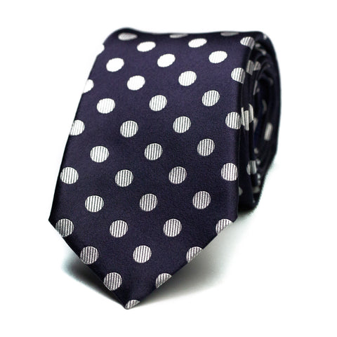 LOUD WHISPER - Jacquard silk tie with initials - The Seëlk - 1