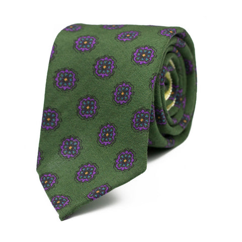 MEDITABONDO - Wool and Silk Tie - The Seëlk - 1