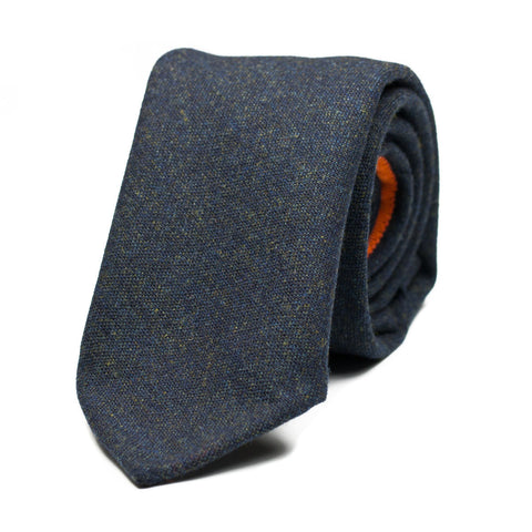 PIPISTRELLO - Wool tie with initials - The Seëlk - 1