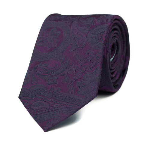 SYNAESTHESIA - Jacquard silk tie with initials - The Seëlk - 1