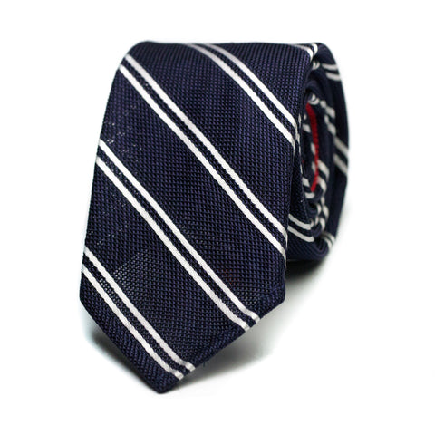 TORVIZCON - Grenadine silk tie with initials - The Seëlk - 1