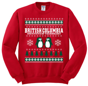 BCIT Holiday Sweater   SPECIAL PRICE