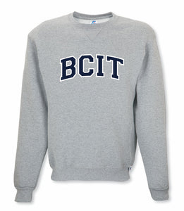 BCIT Russell Athletic Crew - Silk