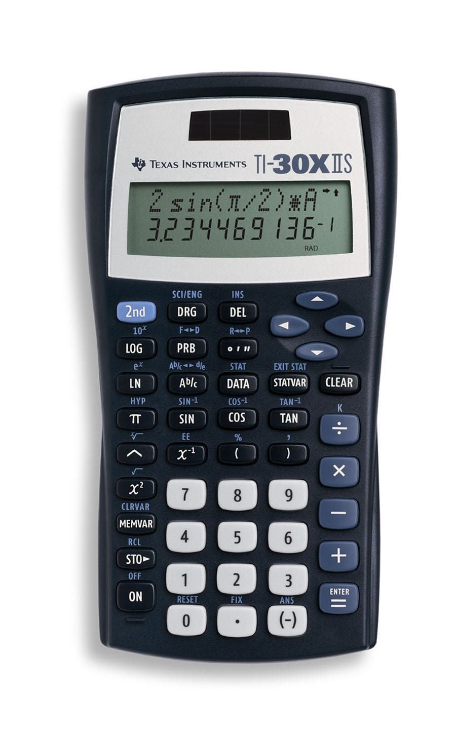 TI 30X IIS Solar Scientific Calculator