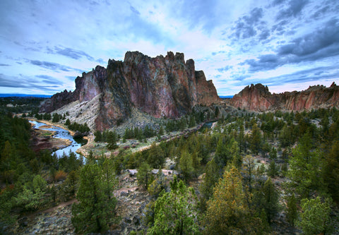 smith rock state park hike