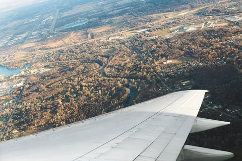 View from an airplane!