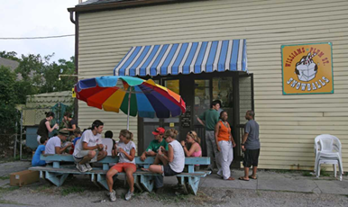 Plum Street Snowballs is a local snowball shop that all locals love to go to in New Orleans