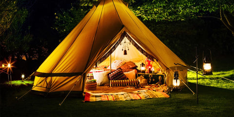Glamping campsite for any couple to enjoy