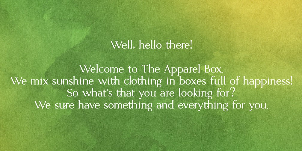 The Apparel Box - About Us #1