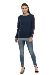 Round Neck Sweatshirt#4