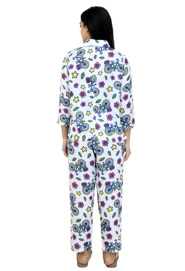 Printed Night Suit#39