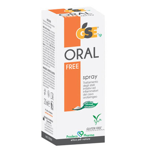 Gse oral free spray CE