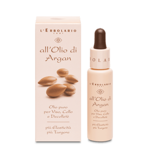Argan olio puro viso, collo, decolletè