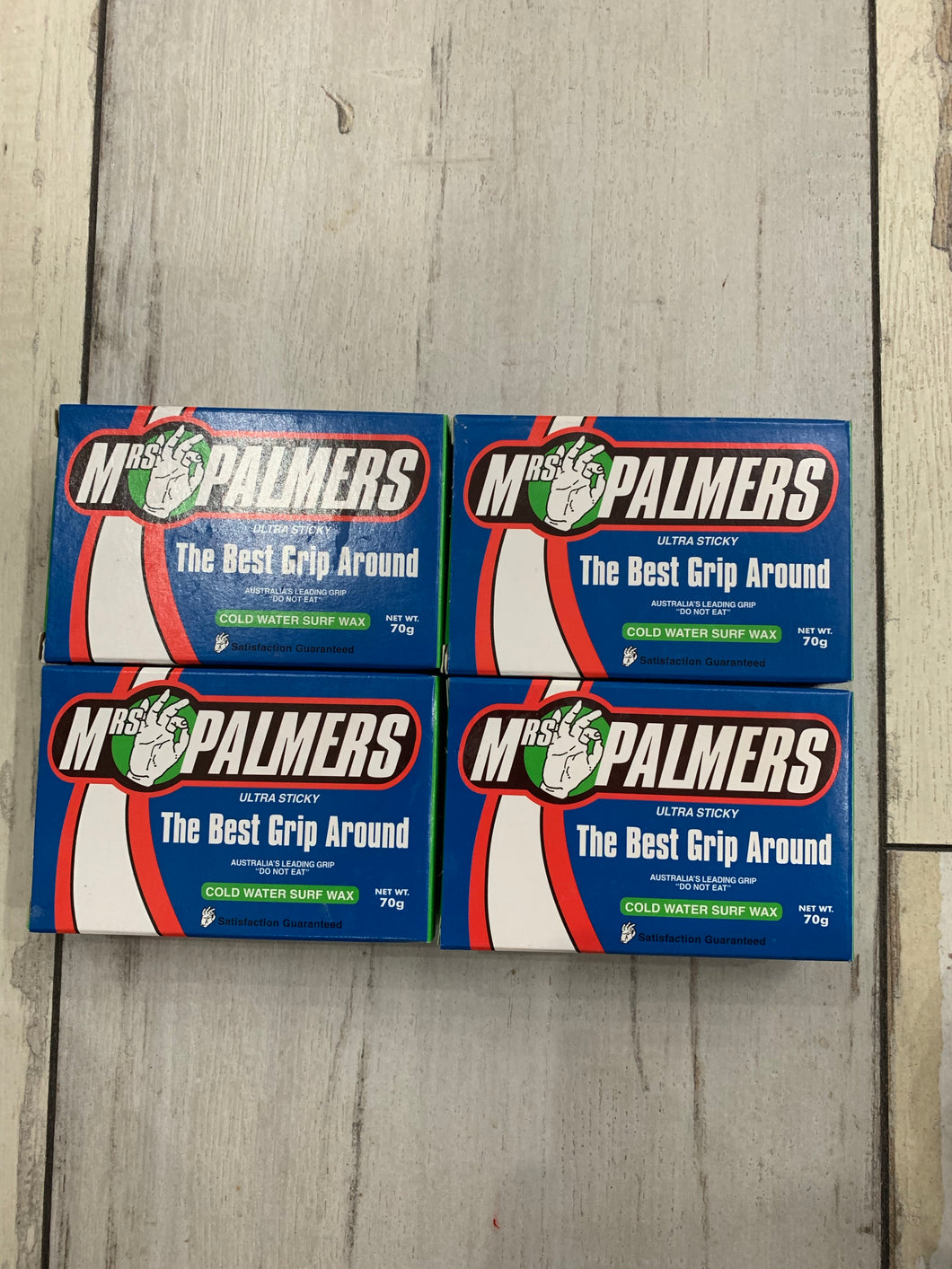Mrs Palmers Cold Water Wax 4 pack