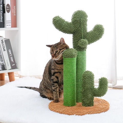 Cat Condo Tree Tower with Hammock Bed and Scratching Post