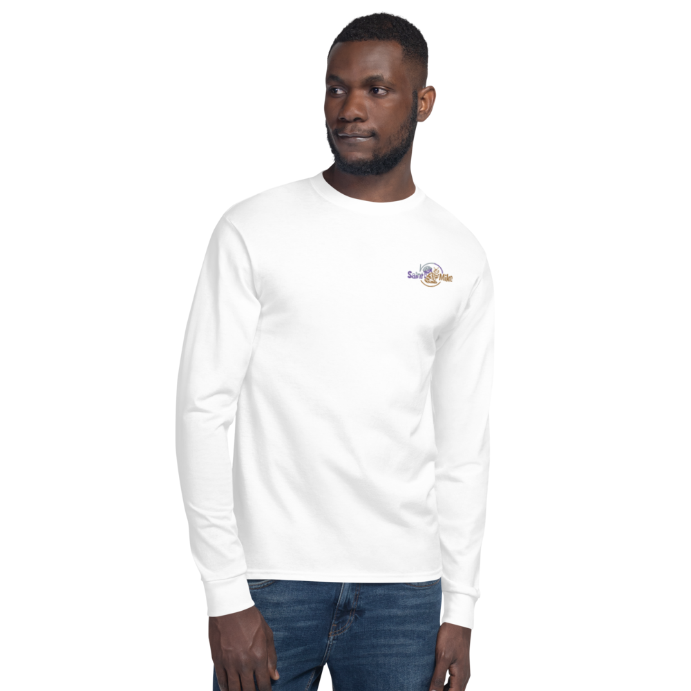 SAINT N MIKE Men's Champion Long Sleeve Shirt