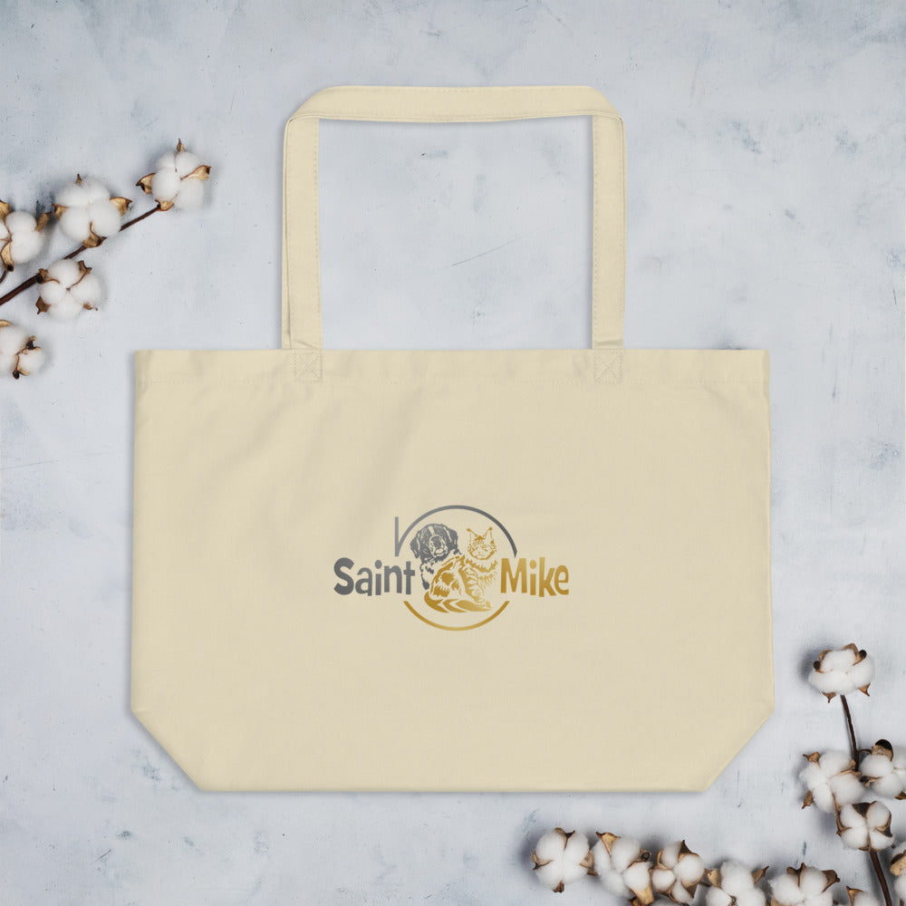 Saint N Mike Large organic tote bag
