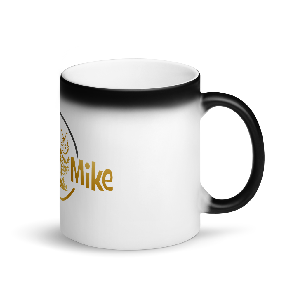 SAINT N MIKE Matte Black Magic Mug