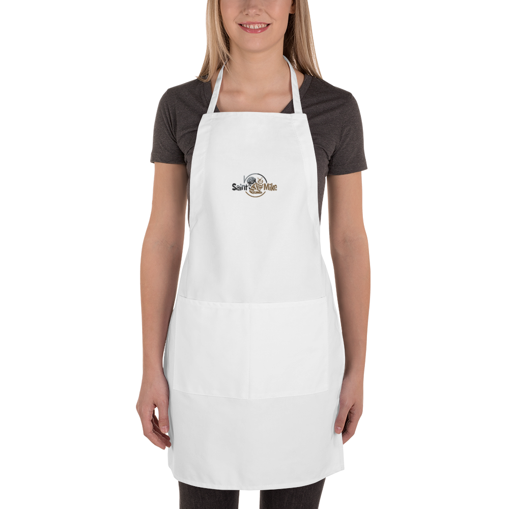SAINT N MIKE Embroidered Apron