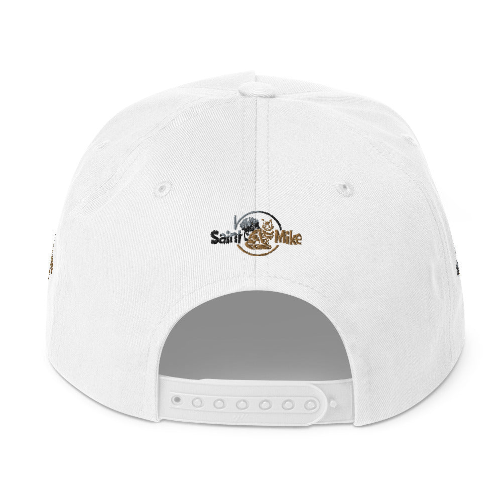 SAINT N MIKE Flat Bill Cap