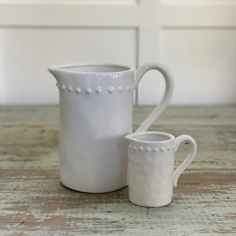 Ceramic Jug with Dot detail