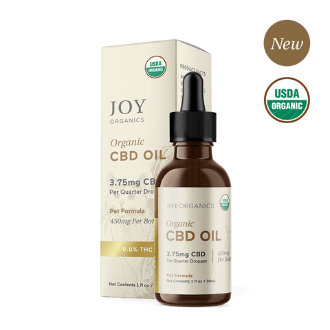 JOY ORGANICS CBD Oil Tincture for Pets