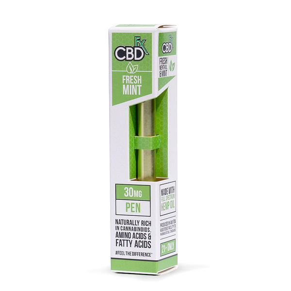 CBDFX  CBD VAPE PEN - FRESH MINT