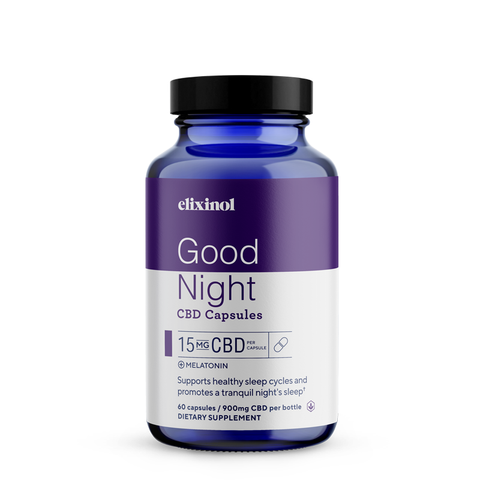 Elixinol  Good Night Capsules CBD + Melatonin