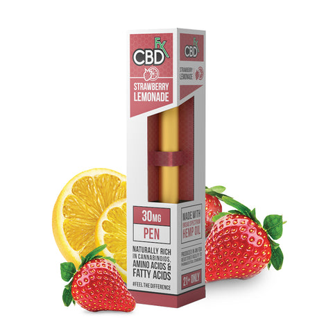CBDFX  Strawberry Lemonade CBD Vape Pen 30mg