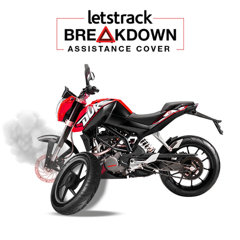 Breakdown Assistance Cover - 2 Wheeler